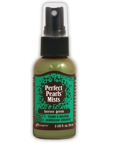 Ranger Perfect Pearls Mist FOREVER GREEN Glimmer Spray PPM28284*