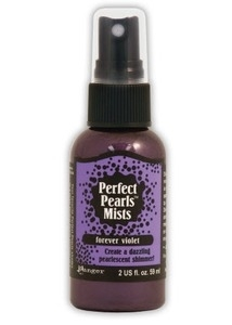 Ranger Perfect Pearls Mist FOREVER VIOLET Glimmer Spray PPM28307*