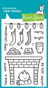 Lawn Fawn COZY CHRISTMAS Clear Stamps zoom image