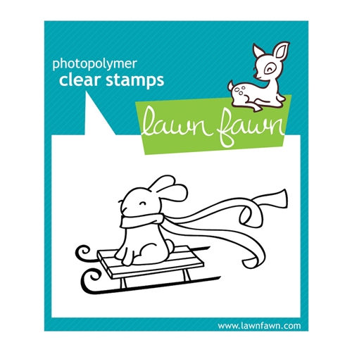 Lawn Fawn WINTER BUNNY Clear Stamp Preview Image