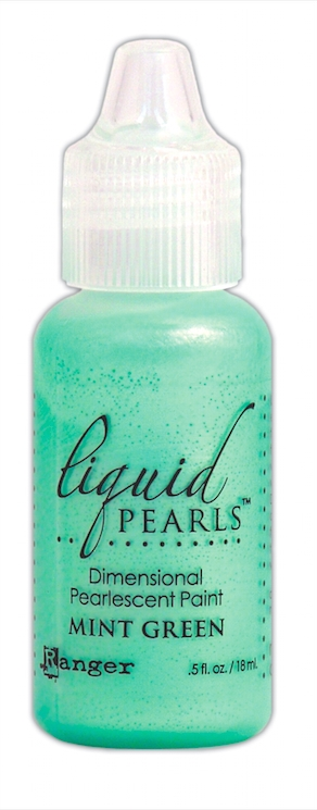 Ranger MINT GREEN Liquid Pearls Pearlescent Paint LPL02000 zoom image