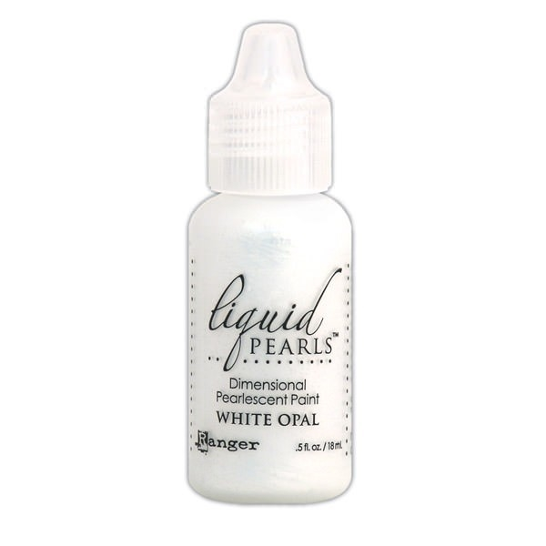 Ranger WHITE OPAL Liquid Pearls Pearlescent Paint LPL02062 zoom image
