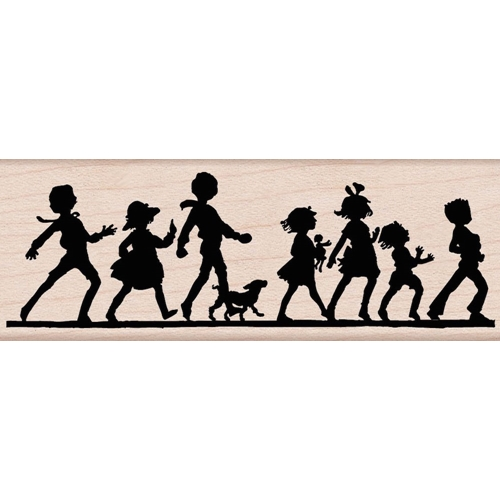 Hero Arts IT'S A PARADE Rubber Stamp G5469 Preview Image
