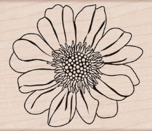 Hero Arts CLASSIC BLOOM Rubber Stamp H5481 zoom image