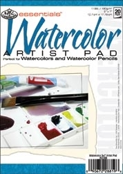 Royal Langnickel Essentials 5 x 7 WATERCOLOR ARTIST PAD Paper RD368