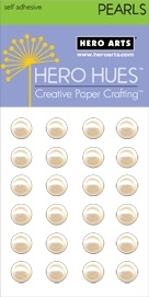 Hero Arts 24 Count 7mm LARGE ANTIQUE PEARLS CH252