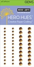 Hero Arts Bling LATTE GEMS Gemstones Brown CH255