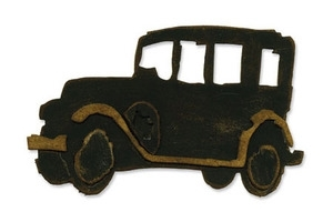 Tim Holtz Sizzix Die OLD JALOPY Car Bigz Alterations 657185