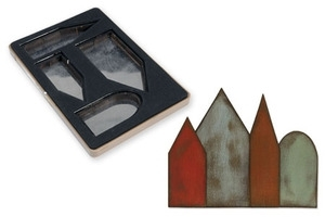 Tim Holtz Sizzix Die ARTFUL DWELLINGS Movers & Shapers Bigz L Alterations 657218 Preview Image