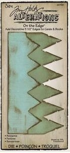 Tim Holtz Sizzix Die PENNANTS On The Edge Alterations 657181 zoom image