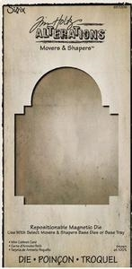Tim Holtz Sizzix Die MINI CABINET CARD Movers & Shapers Alterations 657206