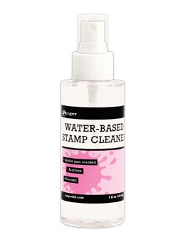 Ranger Inkssentials WATER-BASED STAMP CLEANER Bubble Gum Scented WCS01690 zoom image
