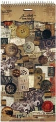 Tim Holtz Idea-ology Salvage Stickers CROWDED ATTIC TH92898 Preview Image