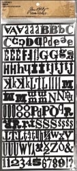 Tim Holtz Idea-ology ALPHA PARTS RANSOM TH92908 Preview Image