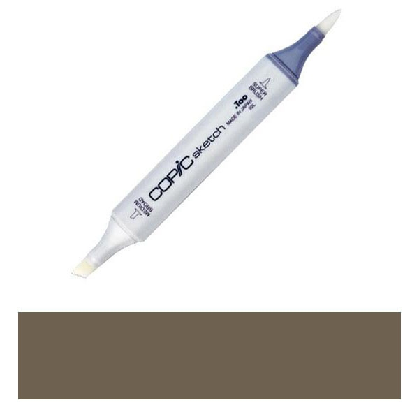 Copic Sketch Marker E87 FIG Brown zoom image