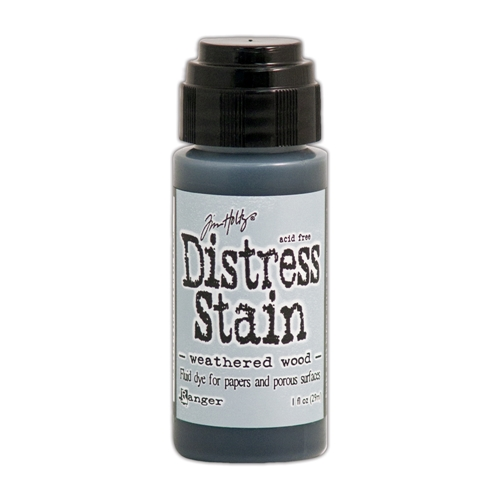 Tim Holtz Distress Ink Stain WEATHERED WOOD Ranger TDW29915 Preview Image