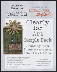 Wendy Vecchi Modeling Film SAMPLE PACK CLEARLY FOR ART Parts Studio 490 WVSAMPLE*
