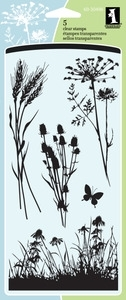 Inkadinkado Clear Stamps MEADOW 60-30496 Preview Image