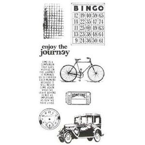 Tim Holtz Visual Artistry PLAYFUL JOURNEY Clear Stamps Set  css27812