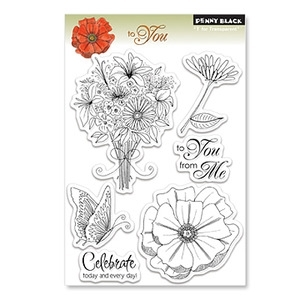 Penny Black Clear Stamps TO YOU 30-067