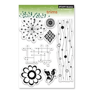 Penny Black Clear Stamps TRIMS 30-068