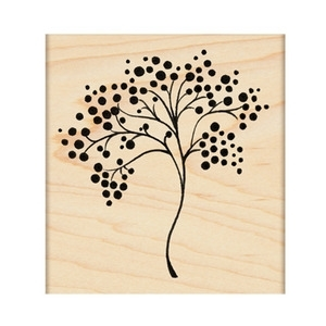 Penny Black Rubber Stamp REVERIE 4180J