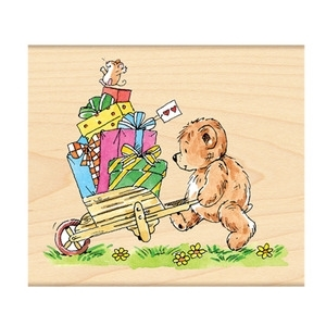 Penny Black Rubber Stamp BY THE CARTFUL 4139K *