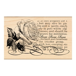 Penny Black Rubber Stamp ROSA 4184K