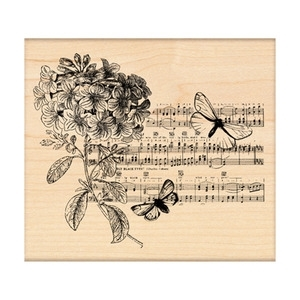 Penny Black Rubber Stamp BUTTERFLY SUITE 4182K