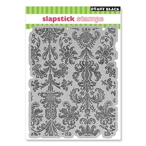 Penny Black Cling Stamp DELICATE PATTERN Rubber Unmounted 40-047