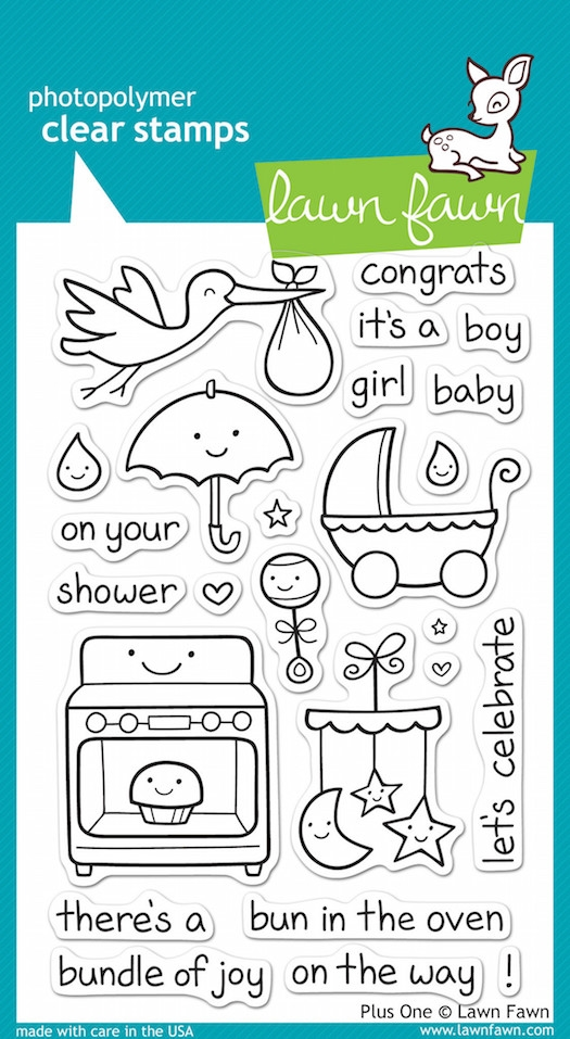 Lawn Fawn PLUS ONE Clear Stamps zoom image