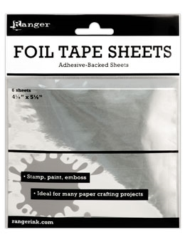 Ranger METAL FOIL TAPE SHEETS 4.25 x 5.5 ISF30010 Preview Image