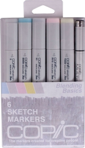 Copic Sketch BLENDING BASICS Markers Kit 52792 Preview Image