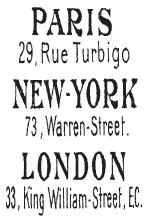 Tim Holtz Rubber Stamp PARIS NEW YORK LONDON Stampers Anonymous j1-1671 Preview Image
