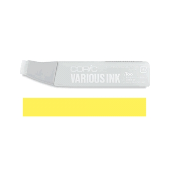 Copic Marker REFILL Y18 LIGHTNING YELLOW Original Sketch And Ciao
