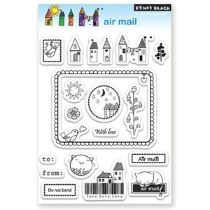 Penny Black Clear Stamps AIR MAIL 30-072 zoom image