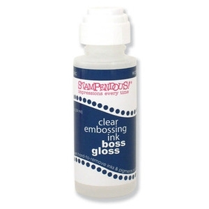 Stampendous BOSS GLOSS Clear Embossing Ink EI101