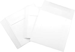 Leader 6 x 6 WHITE Square Envelopes LESQ502 zoom image