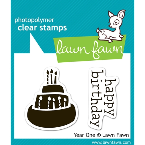 Lawn Fawn YEAR ONE Clear Stamps Preview Image
