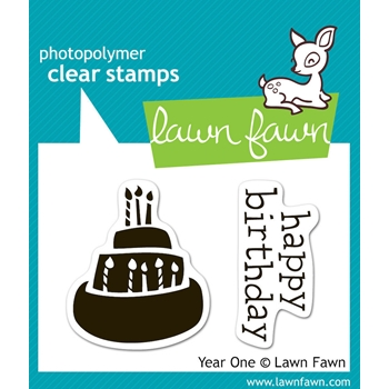 Lawn Fawn YEAR ONE Clear Stamps
