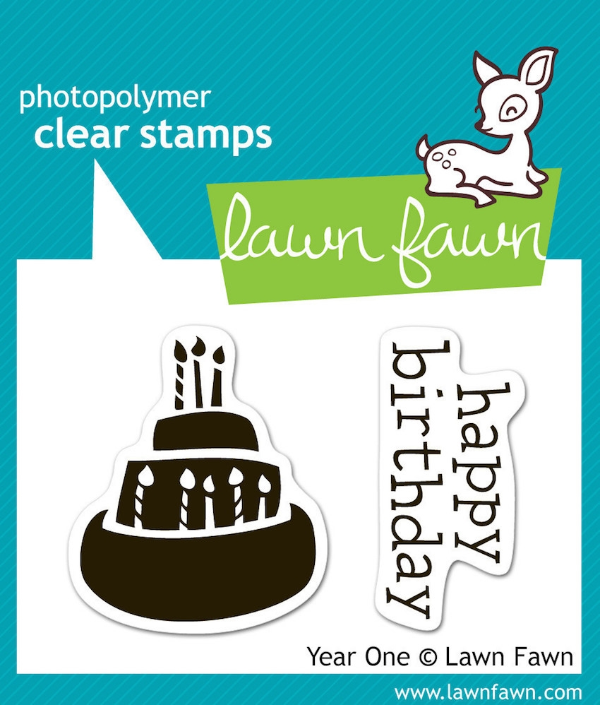 Lawn Fawn YEAR ONE Clear Stamps zoom image