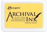 Ranger Archival Ink Pad CHROME YELLOW AIP30591 Preview Image