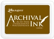 Ranger Archival Ink Pad COFFEE AIP31451