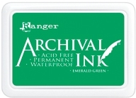 Ranger Archival Ink Pad EMERALD GREEN AIP30447
