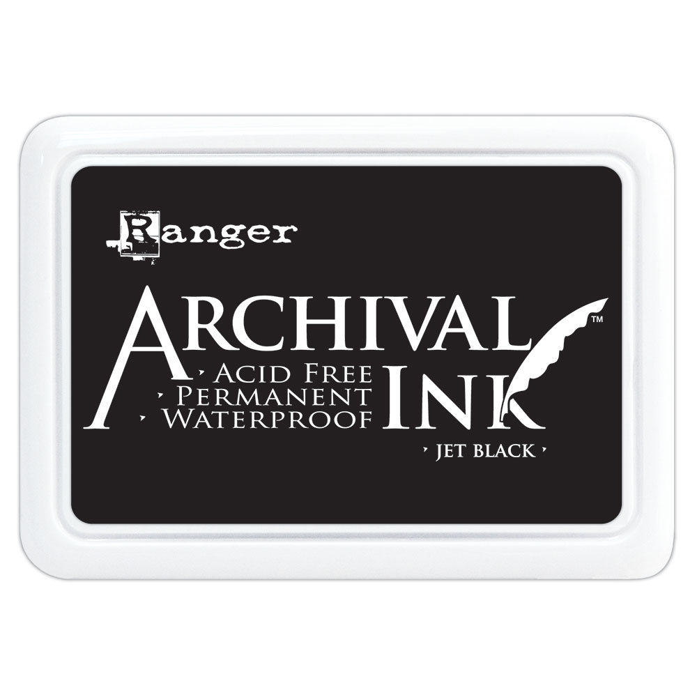 Ranger Archival Ink Pad JET BLACK AIP31468 zoom image