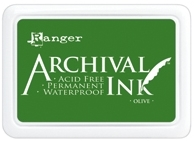 Ranger Archival Ink Pad OLIVE AIP31482 zoom image