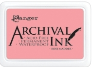 Ranger Archival Ink Pad ROSE MADDER AIP30638 Preview Image