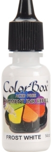 Clearsnap Colorbox FROST WHITE REFILL Pigment Ink 140802