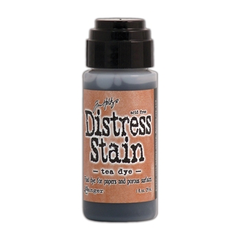 Tim Holtz Distress Ink Stain TEA DYE Ranger TDW31185
