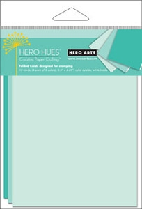 Hero Arts MIX NOTECARDS POOL PS639 Blue